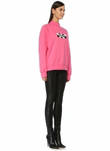 MSGM Sweatshirt Fuşya